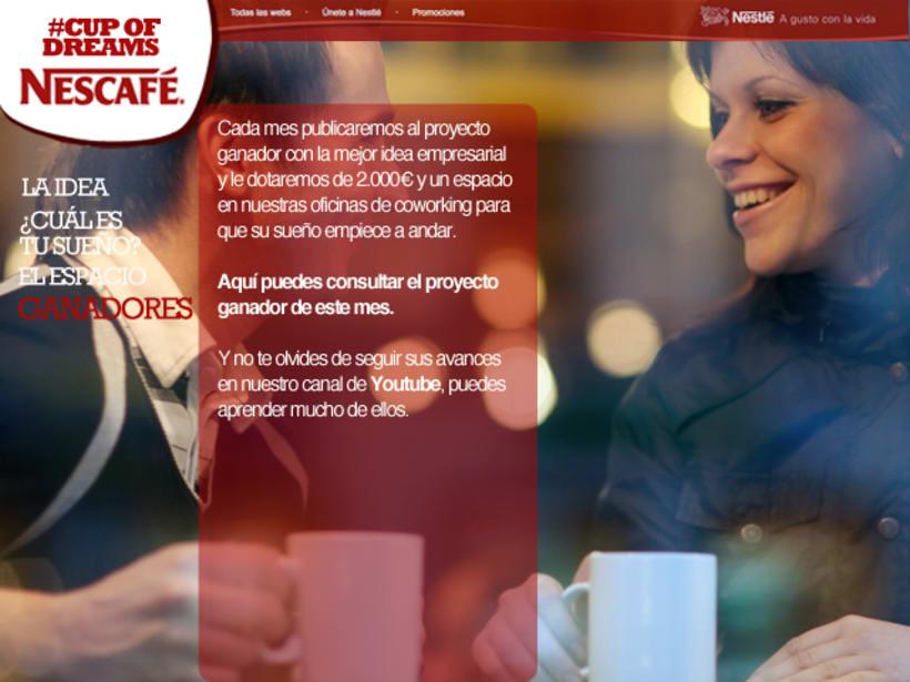 Cup Of Dreams- Campaña para Nescafé (El Sol Bilbao 2014) 4