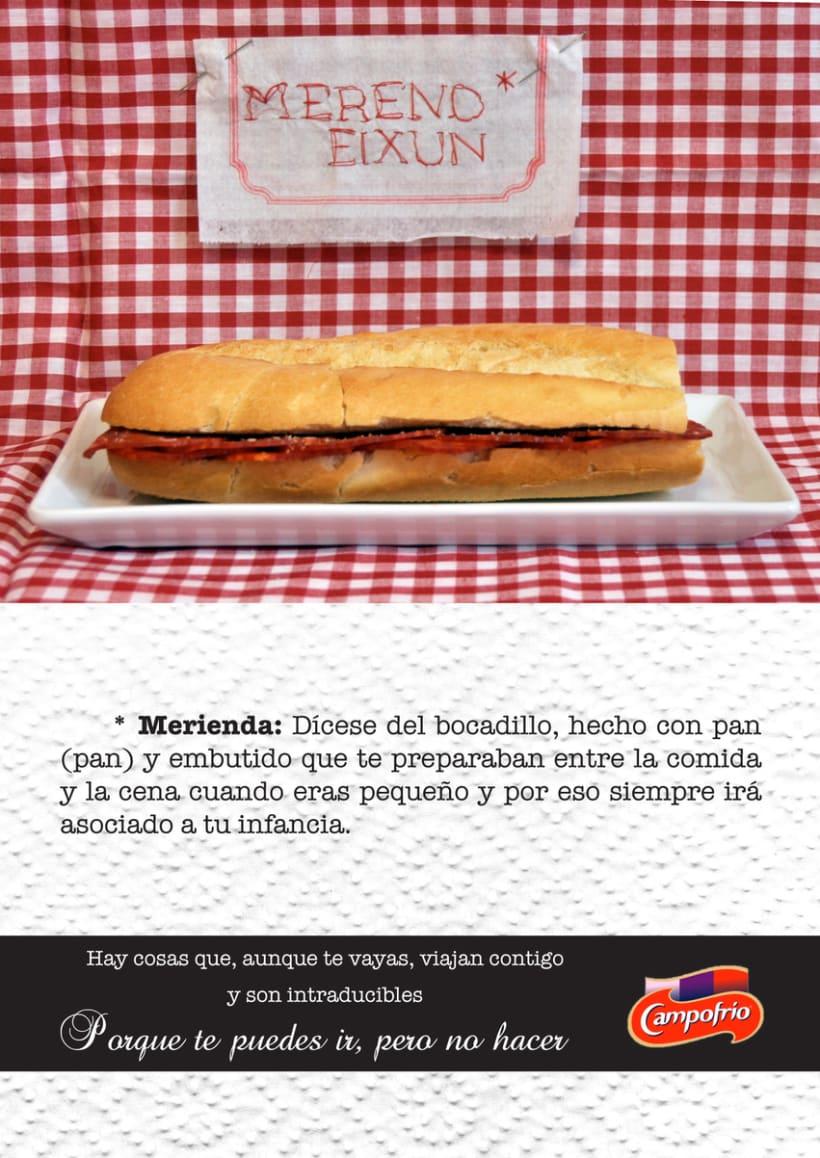 Intraducibles-Campaña Gráfica para Campofrío-The Cotorras 0