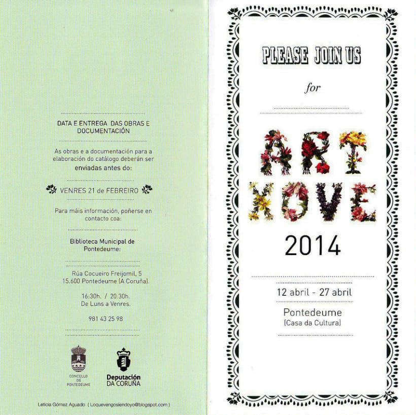 ArtXove 2014-Cartelería -1