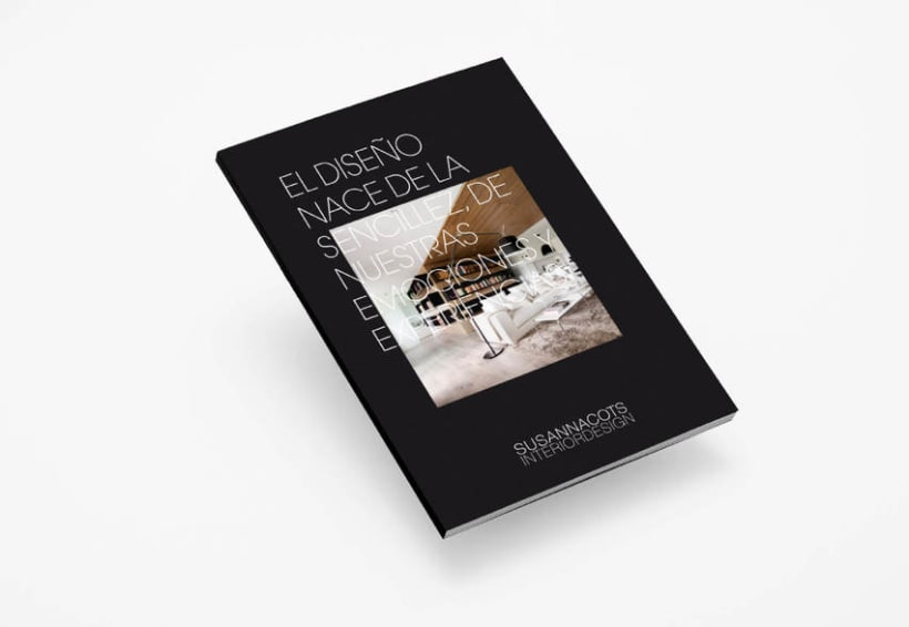 Company Profile para Susanna Cots. Interior design. -1