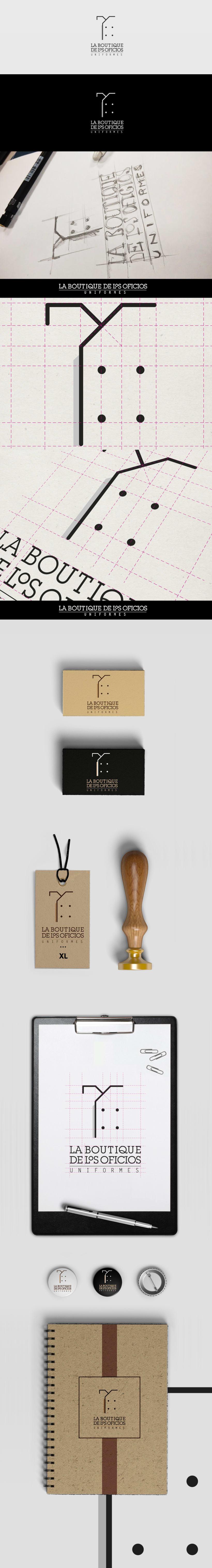 """Branding: """"La boutique de los oficios"""" -1"""