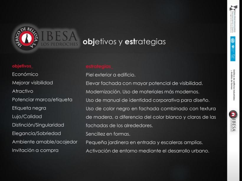3D RENDER | Propuesta de nueva fachada para IBESA 3
