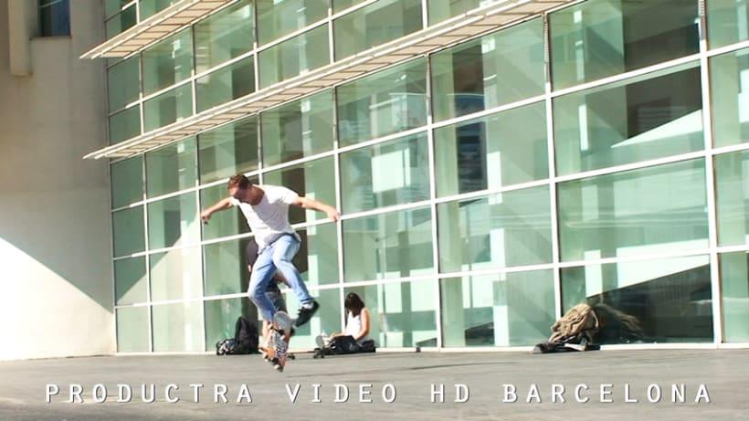 Producción, edición y grabación, videoclips, Barcelona 0