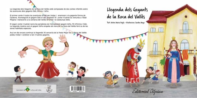 """Cuento infantil """"Gegants de la Roca del Vallès"""" 0"""