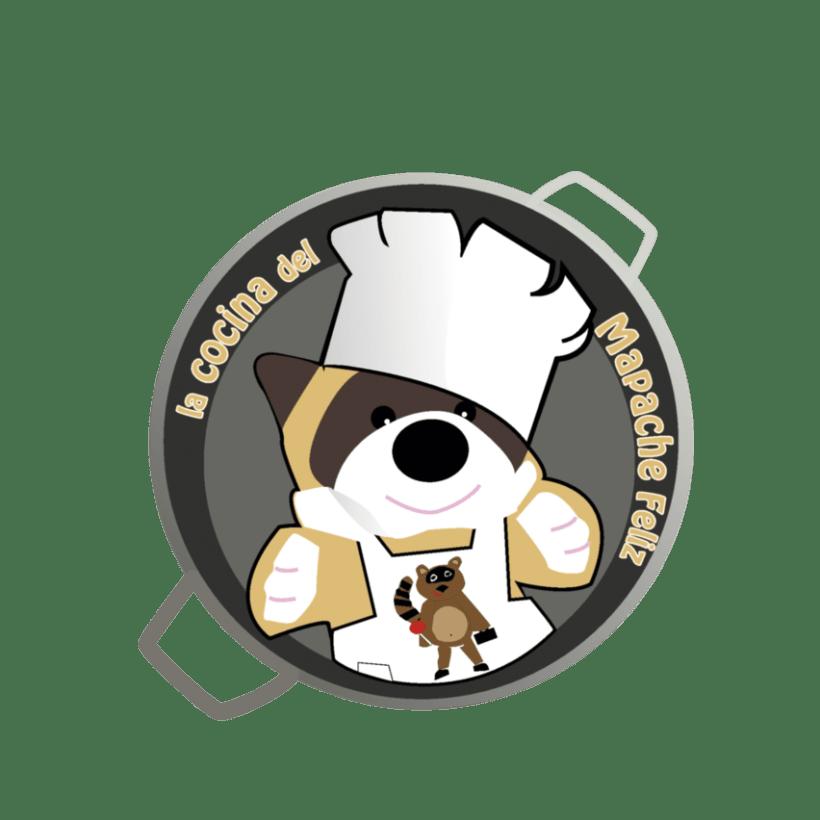 Logo de La cocina del Mapache Feliz -1