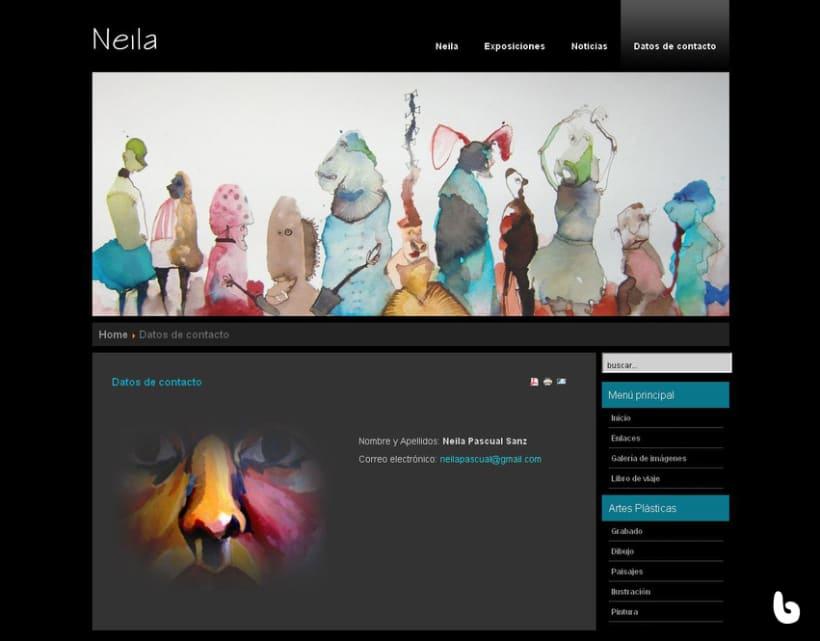 www.neilapascual.com Portal web Neila Pascual  2