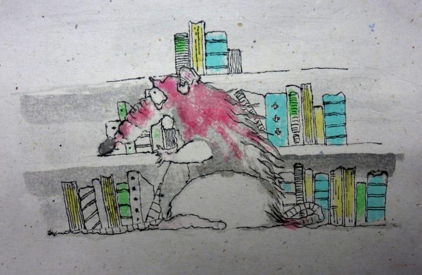 Illustration Book Rat Pat 0