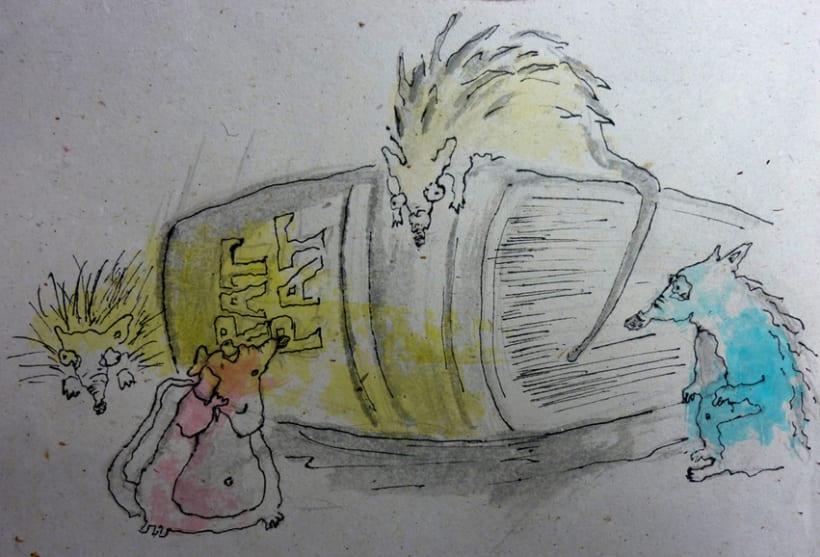 Illustration Book Rat Pat 3