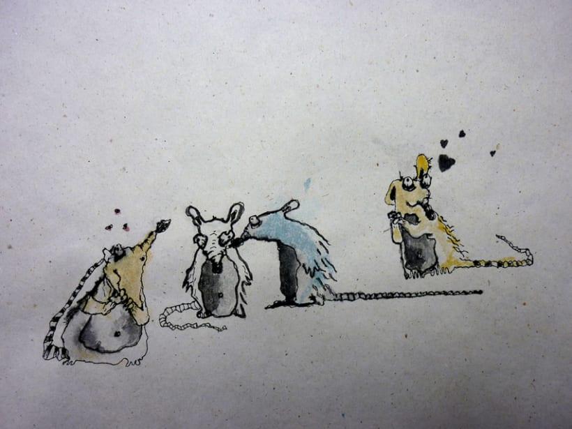 Illustration Book Rat Pat 5