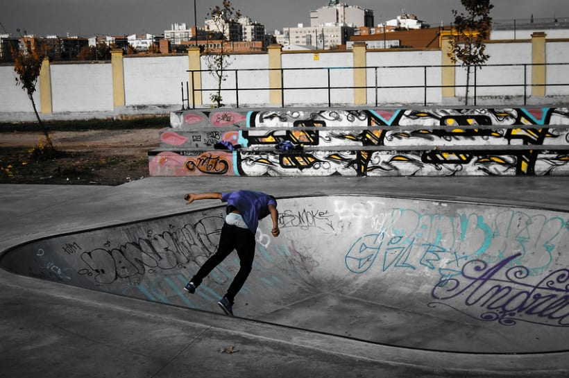 Grammar of Arts - SkatePark 1