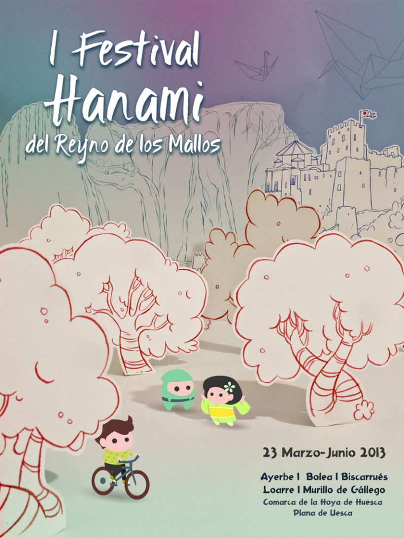 I Festival Hanami del Reyno de los Mallos 0