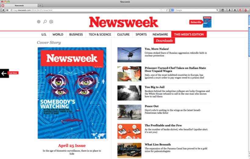 Newsweek Magazine 8
