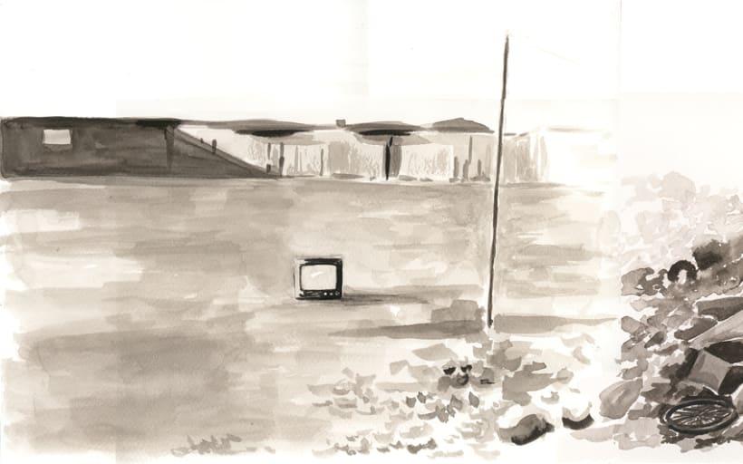 """Ilustraciones para Cabecera """"Distopías"""" 5"""