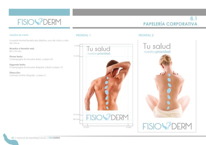 Branding FISIODERM 5