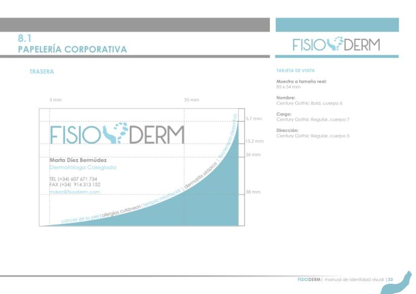 Branding FISIODERM 6