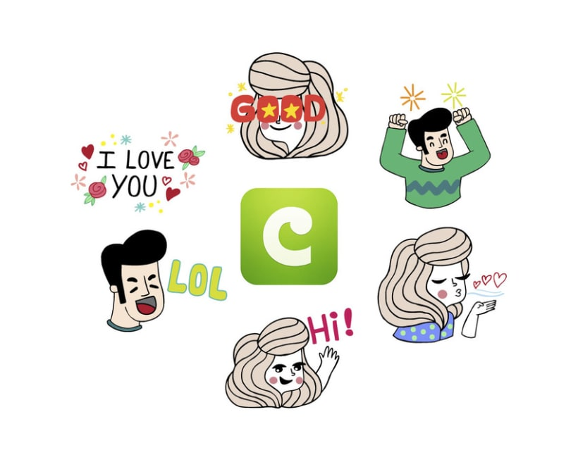 COCO Stickers - Jim & Jane 0