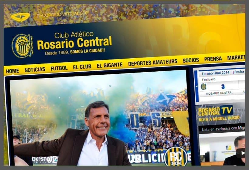 Sitio Oficial Club Atlético Rosario Central -1