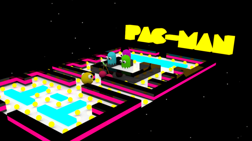 Modelado 3D Pac Man -1