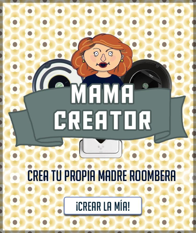 · mama creator ·  roomba 5