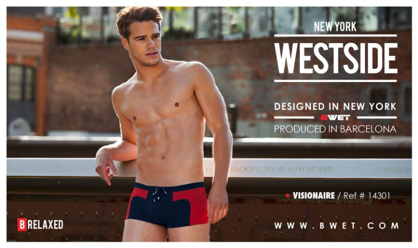 Swimwear men design 1