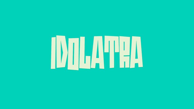 Idolatra font -1