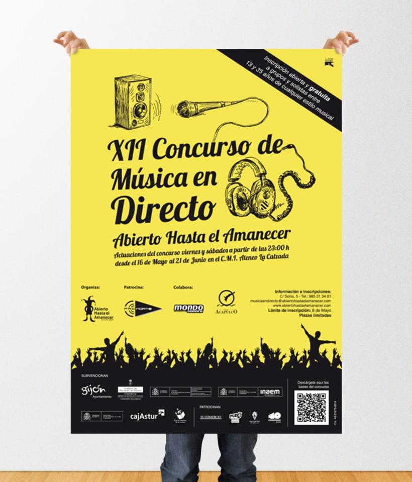 XII Concurso de Música en Directo 0