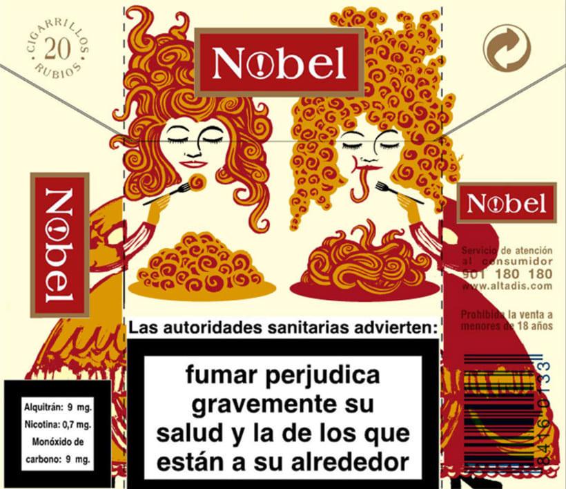 Cigarrillos Nobel 7