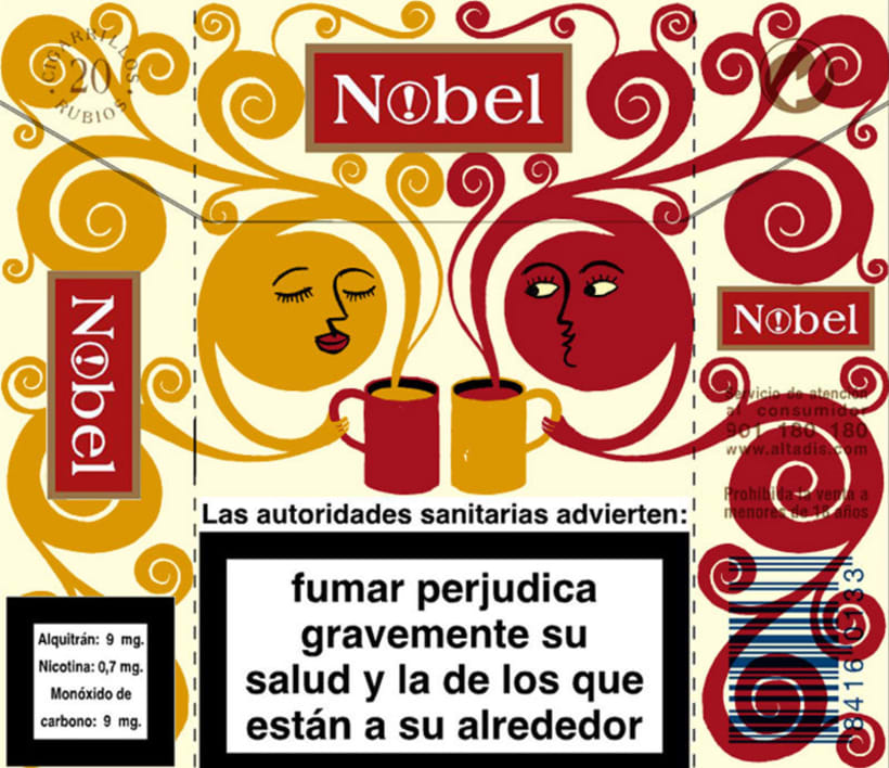 Cigarrillos Nobel 8