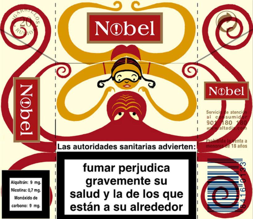 Cigarrillos Nobel 12