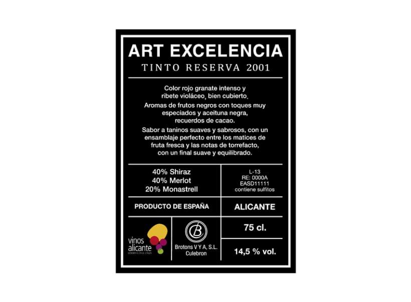 Vino Art Excelencia  2