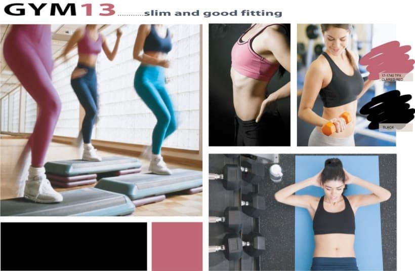 Activewear design - 2 -1
