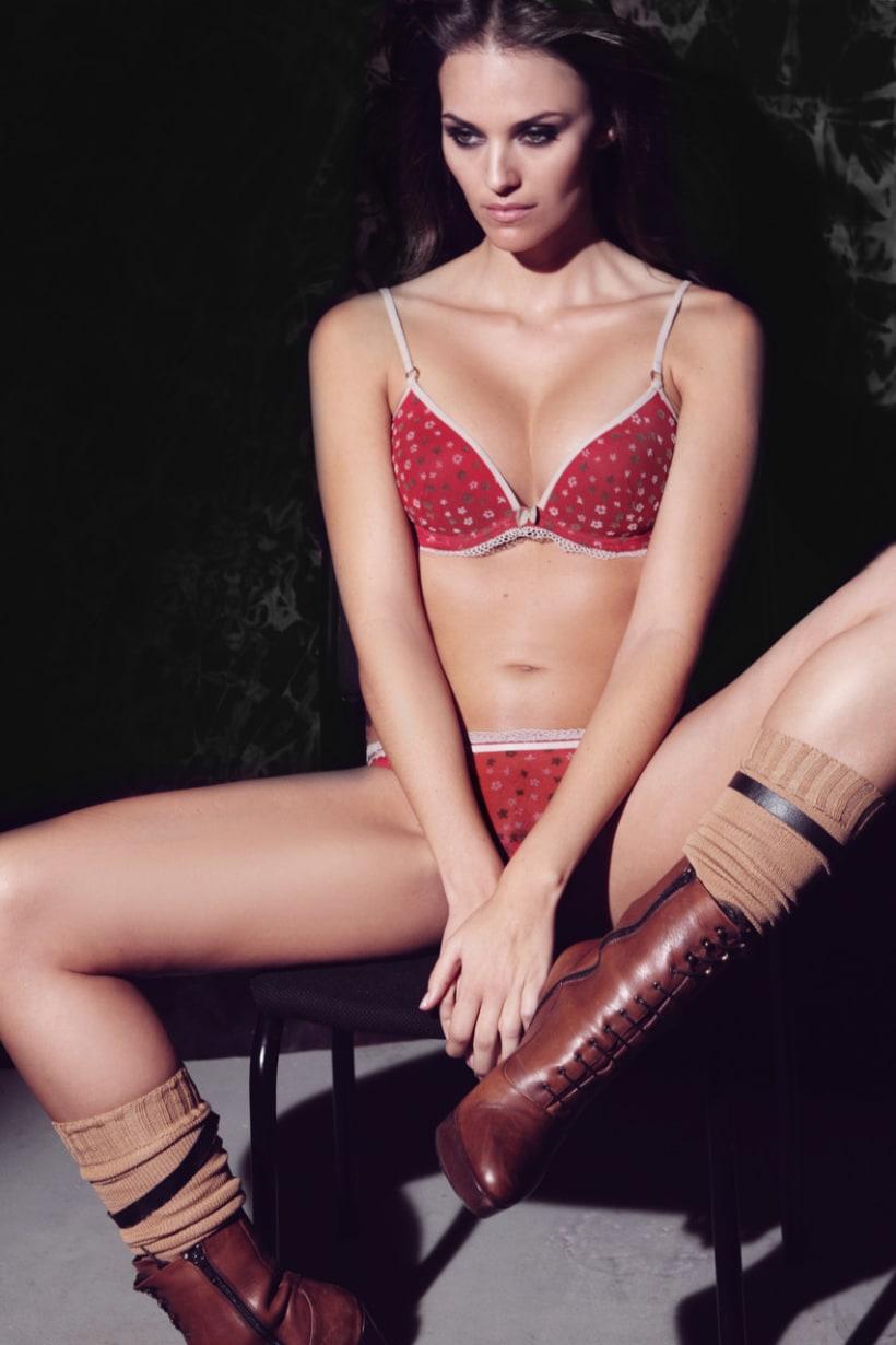 Underwear-sleepwear design - Natural Red 1