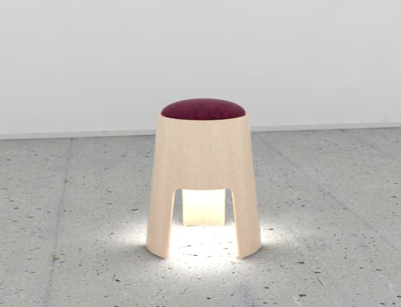 Lamp Stool 1