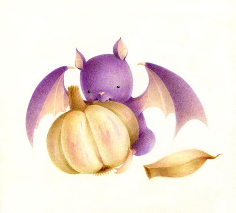 Ilustraciones a lápices de colores 2