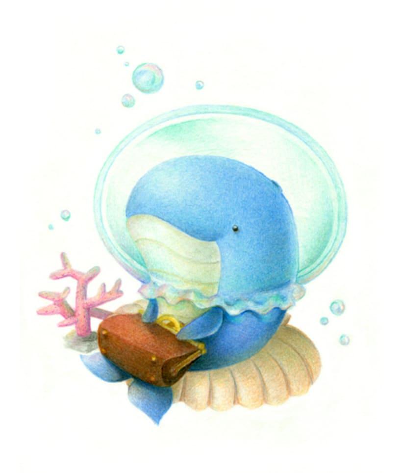 Ilustraciones a lápices de colores 3
