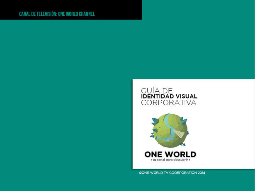 Modelado 3D: One World Channel TV 0