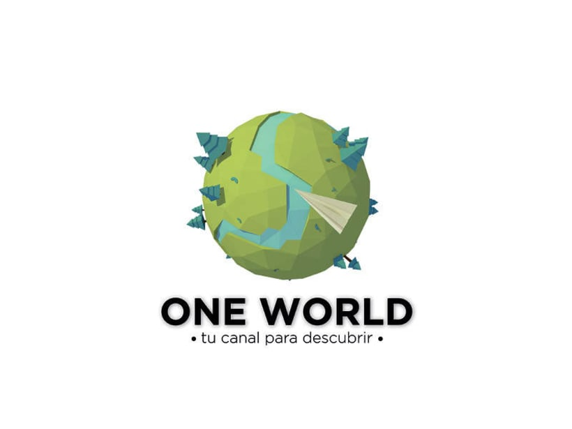 Modelado 3D: One World Channel TV 1