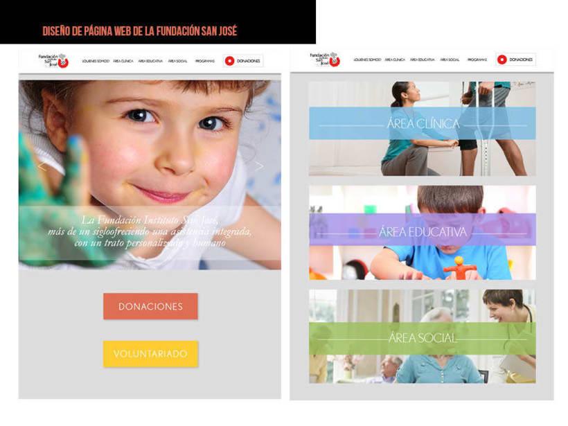 Diseño web: Fundación Instituto San José -1