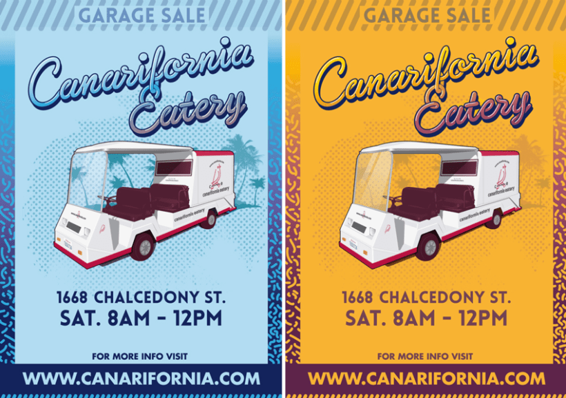Canarifornia Eatery // Poster & Flyers 0