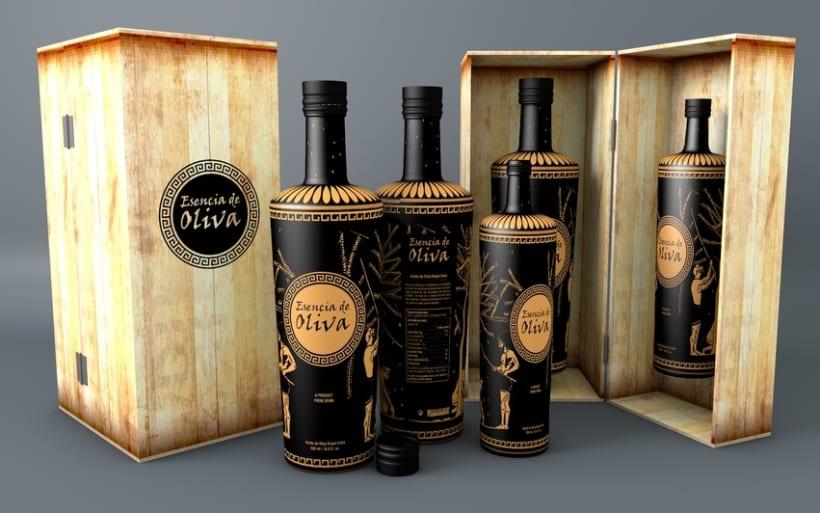 Packaging para exportación de aceite -1