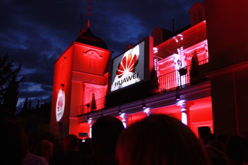 Evento Up&Coming Night by Huawei 5