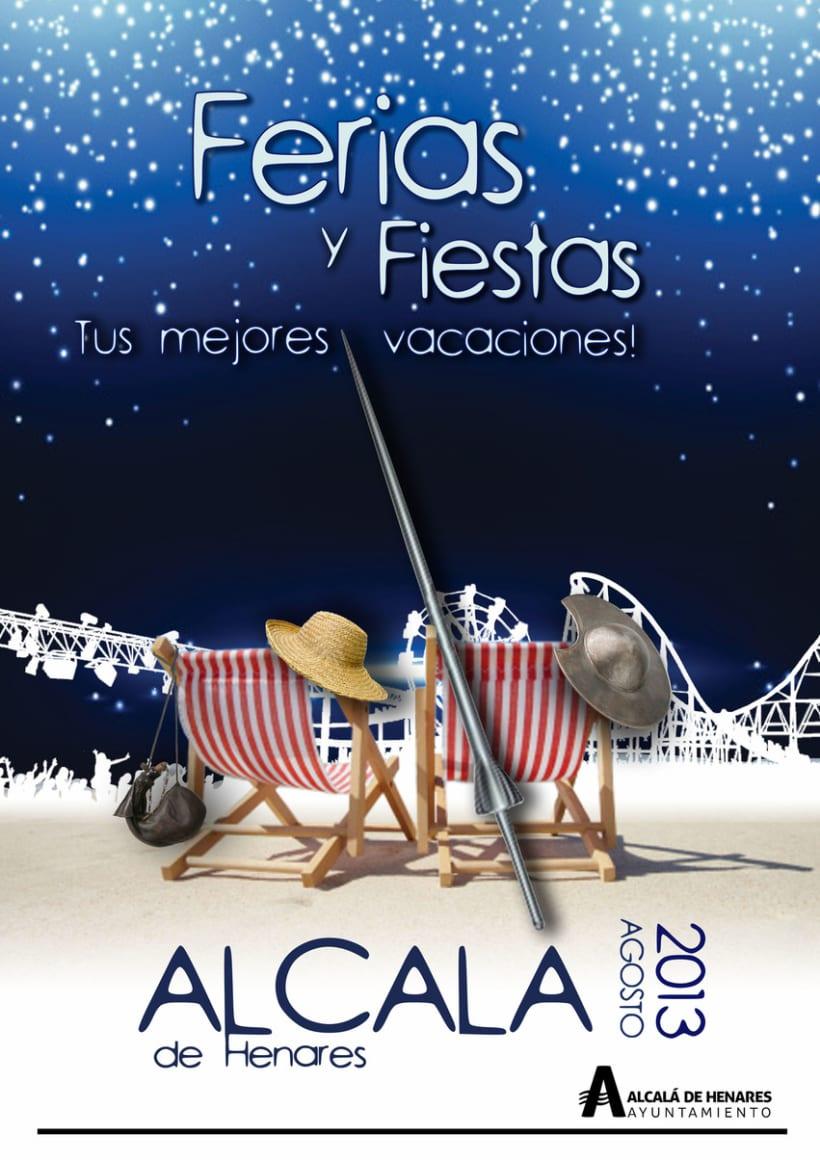Cartel Ferias Alcalá -1