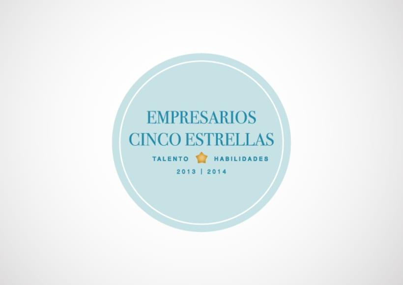 """Identidad """"Corporativa Empresarios Cinco Estrellas"""" 1"""