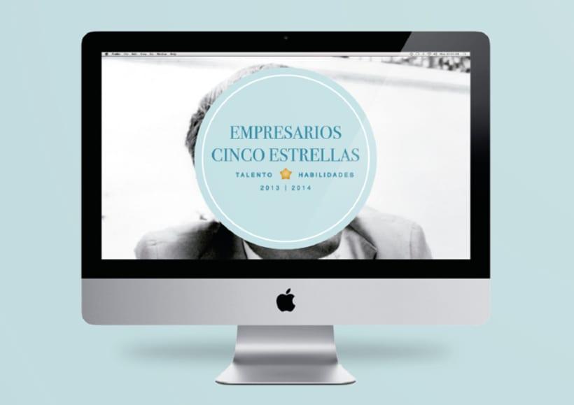 """Identidad """"Corporativa Empresarios Cinco Estrellas"""" 3"""