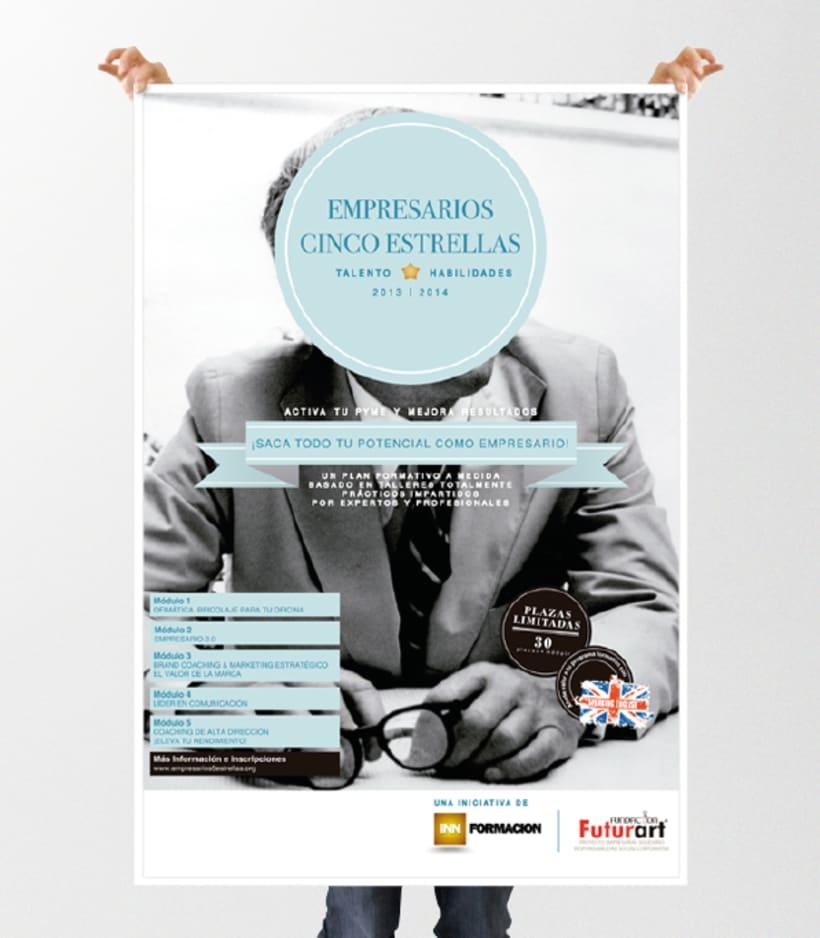 """Identidad """"Corporativa Empresarios Cinco Estrellas"""" 5"""