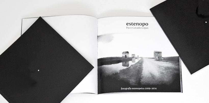 ESTENOPO libro de fotografía artesanal de Paco Casado Cepas 2