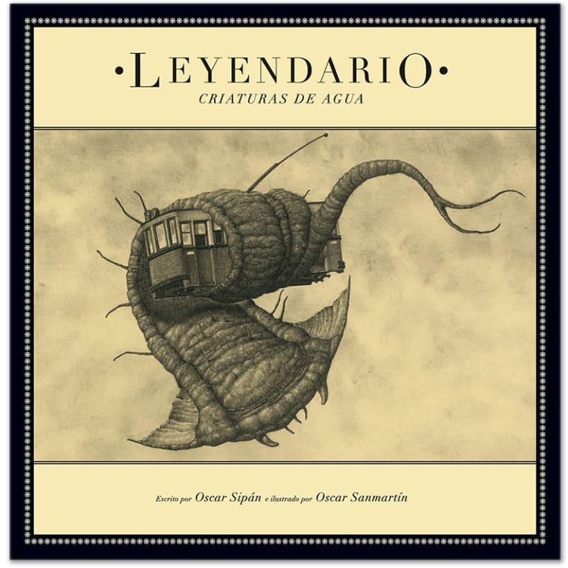 """Leyendario Criaturas de Agua"" Un álbum ilustrado 0"