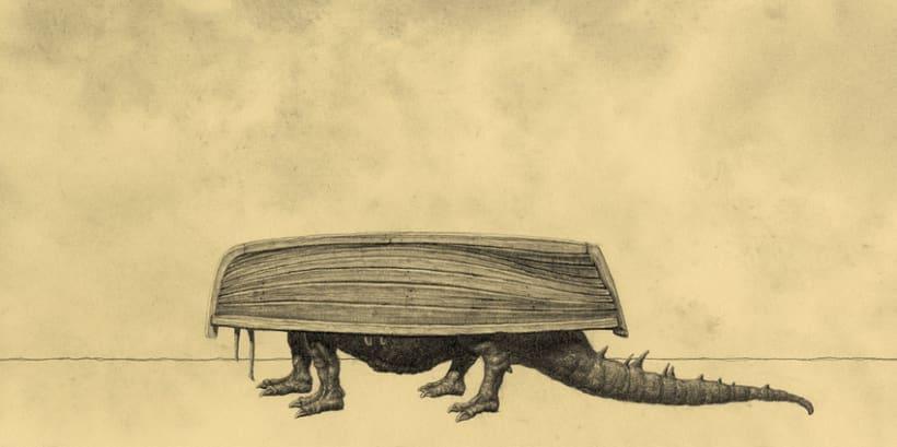 """Leyendario Criaturas de Agua"" Un álbum ilustrado 15"