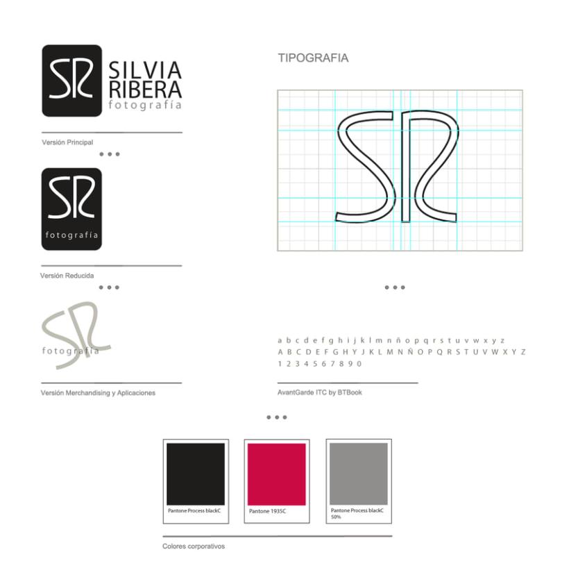 Identidad corporativa. Silvia Ribera 0