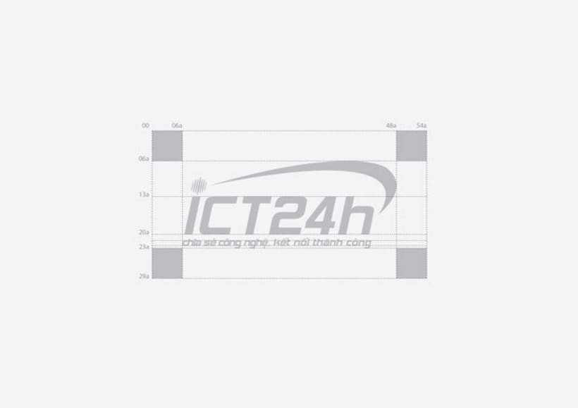 ICT24h | Logo design 4